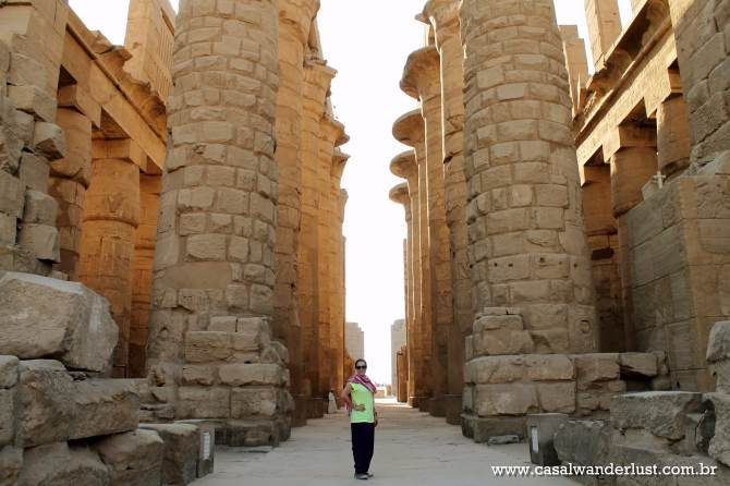 Colunas Templo Karnak