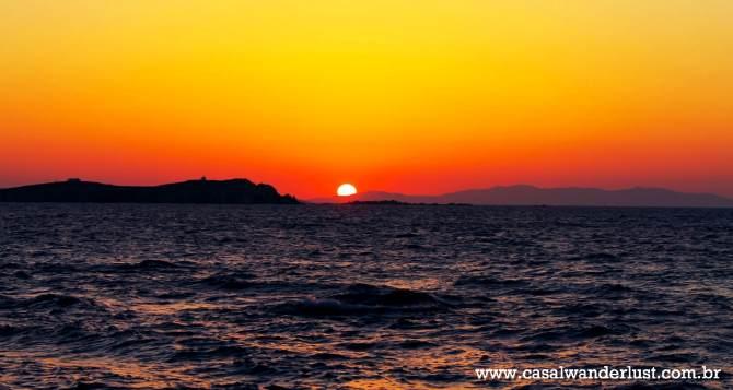 Por do Sol Mykonos