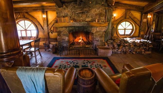 Inside of Green Dragon Inn