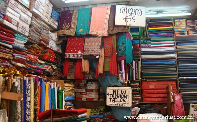 Loja de tecidos Nova Deli