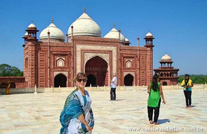 Mesquita Taj Mahal