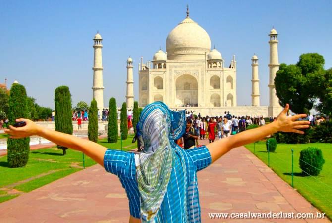 roteiro de 1 dia em Agra