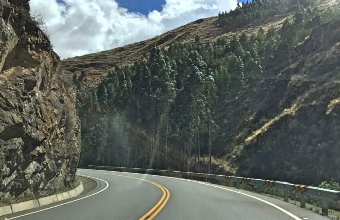 viagem de carro de Porto Velho até Cusco