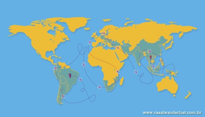 Viagem de volta ao mundo