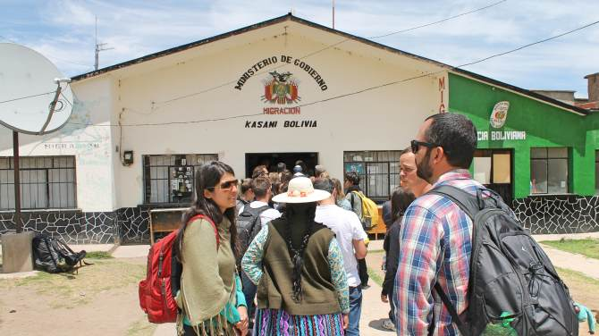 Fronteira Peru Bolivia Copacabana