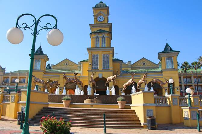 Gold Reff City Theme Park Joanesburgo