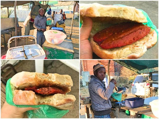 Comidinhas de rua do Lesoto