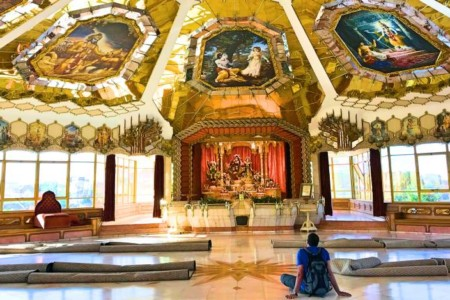 Hare Krishna Temple, um belíssimo templo em Durban