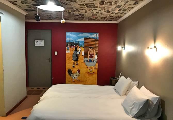 Quarto do hotel em Mossel Bay