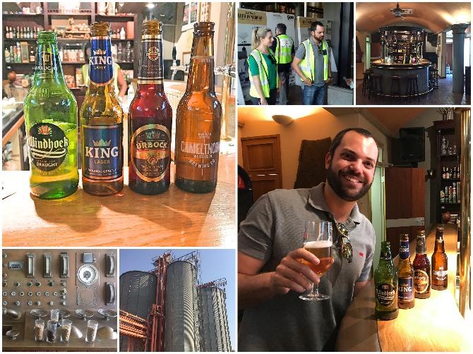 Windhoek Brewery Tour