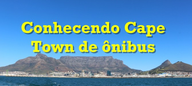 Conhecendo Cape Town de ônibus