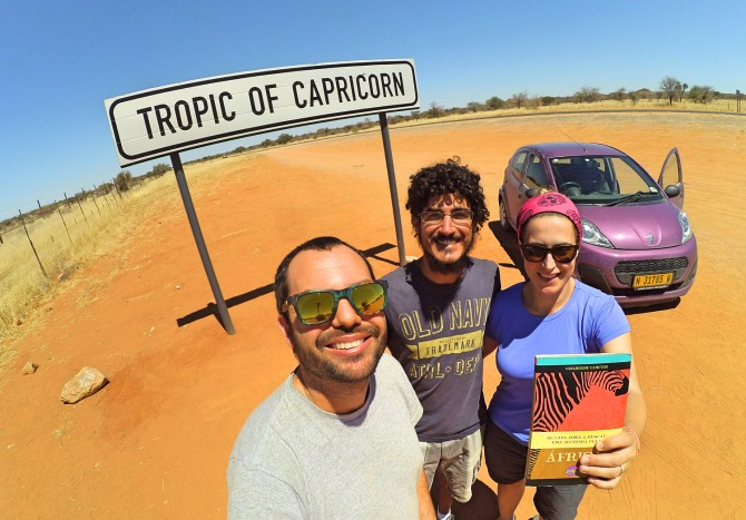 viajar pela Namíbia