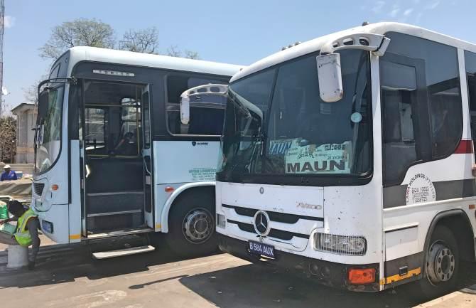Como ir da Namíbia até Botswana de ônibus