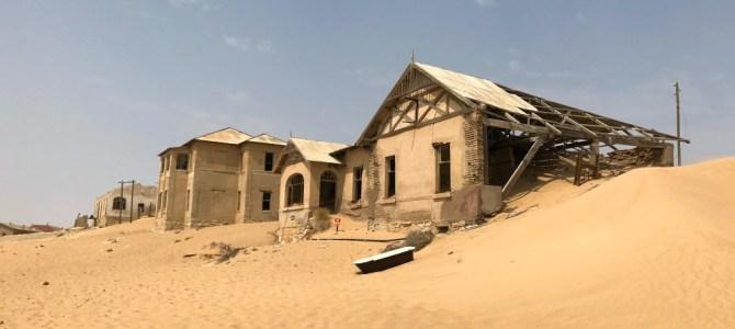Kolmanskop, a cidade fantasma da Namíbia