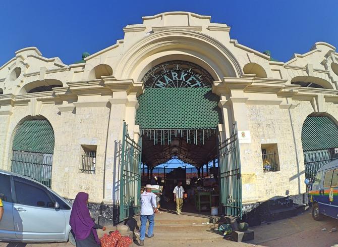 Marikiti Market em Mombaça