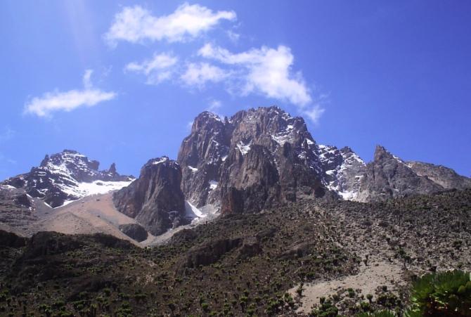 Monte Quênia no Quênia