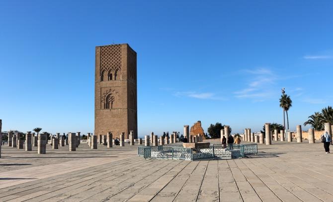 Torre Hassan em Rabat