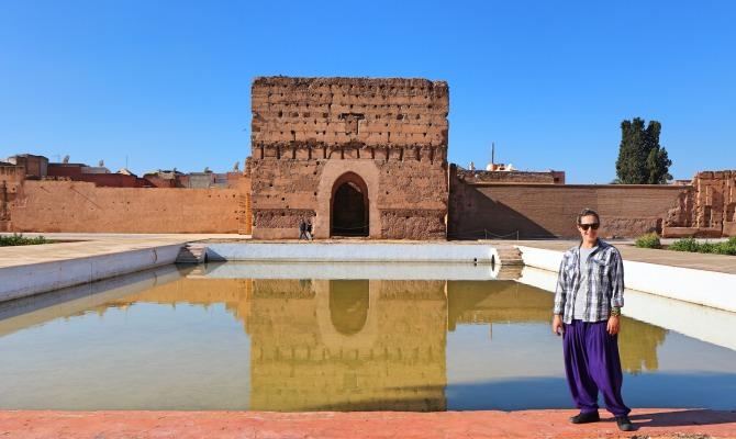 Palácio El Badi em Marraquexe
