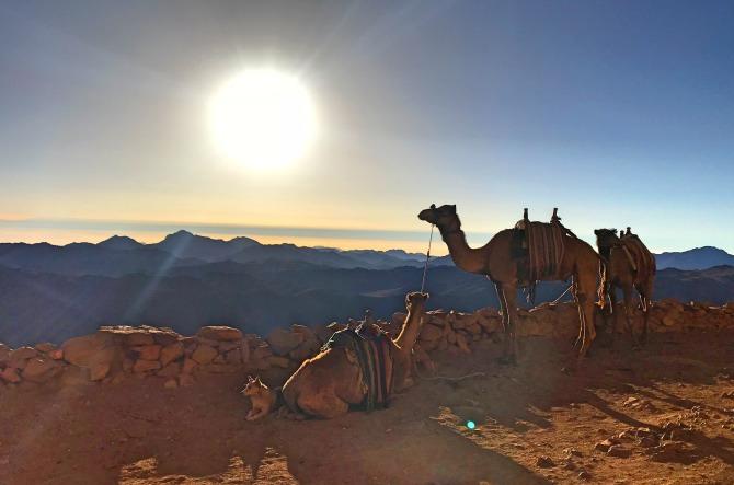 Monte Sinai no Egito