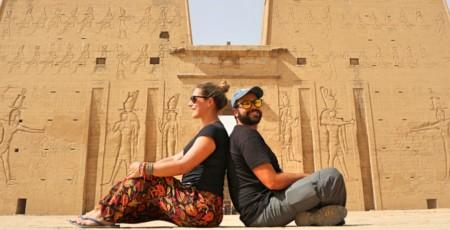 Conheça o belíssimo Templo de Edfu, no Egito
