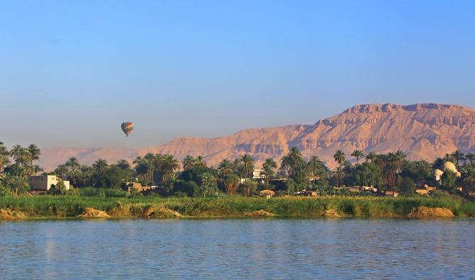 Cruzeiro pelo Rio Nilo