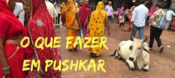 O que fazer em Pushkar – E como evitar o golpe no lago!