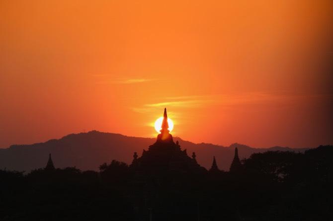 Roteiro de 2 dias em Bagan