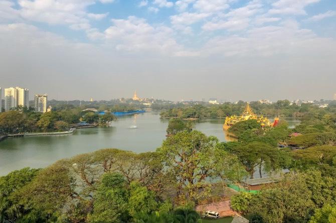 Hospedagem em Yangon