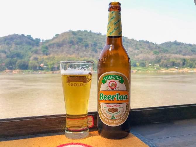 Cerveja do Laos