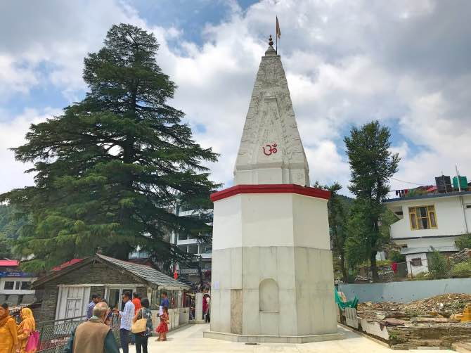 Bhagsu Temple