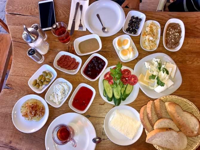 Comidas típicas da Turquia