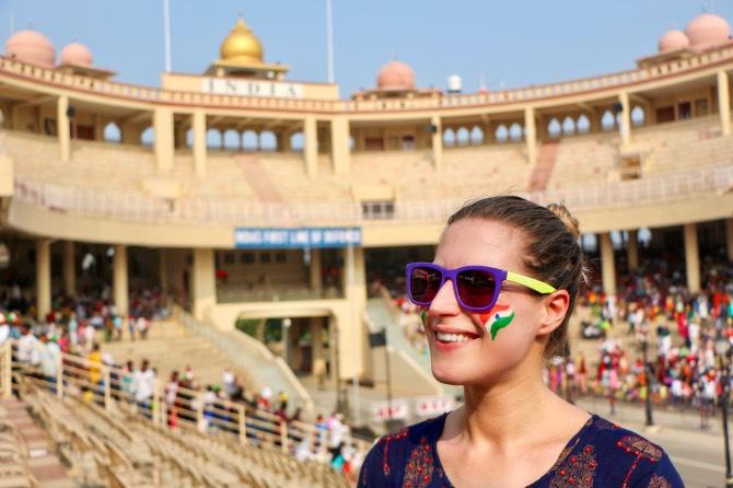 o que fazer em amritsar cerimonia fronteira Attari Wagah