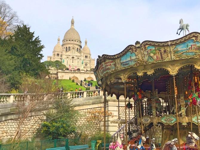 principais atrações de paris Sacré Cœur