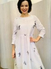 White Linen dress £219 S,M,L