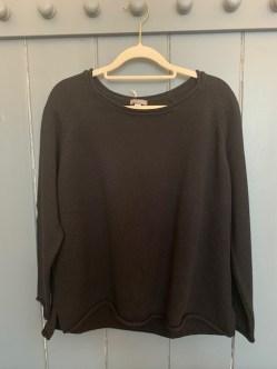 Amori Cotton sweater One Size £105 Navy