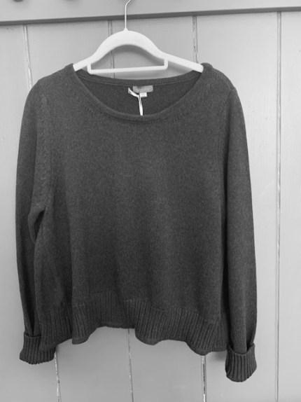 Amori Cotton sweater One Size £105 Grey