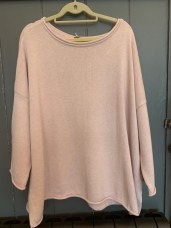 Cersei Cotton Sweater One Size £115 Pink
