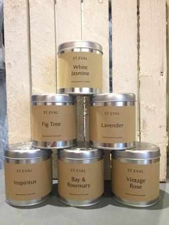 Tin candles £12