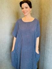 Cotton stripe dress £59 One Size