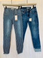 Left: Sissy denim stripe £59 Right: Lulu denim turnup £69.99