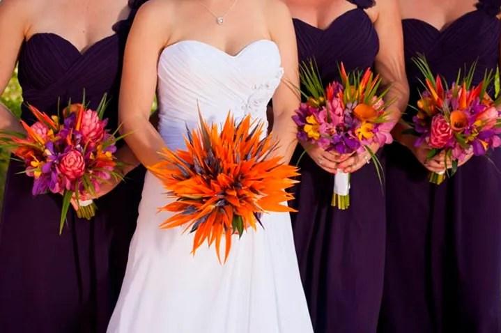 10 flores exticas e lindas na decorao do casamento
