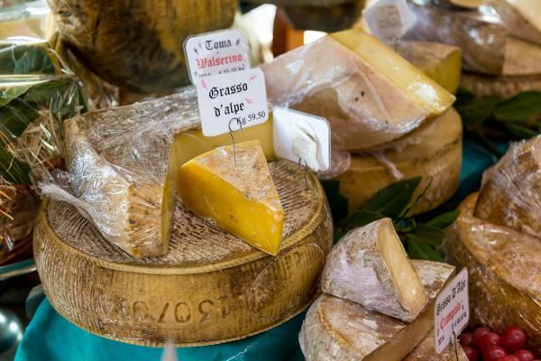 La Tradizione cheese shop in Rome