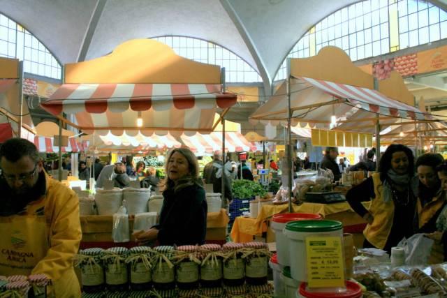 San Teodoro Farmer's Market in Rome