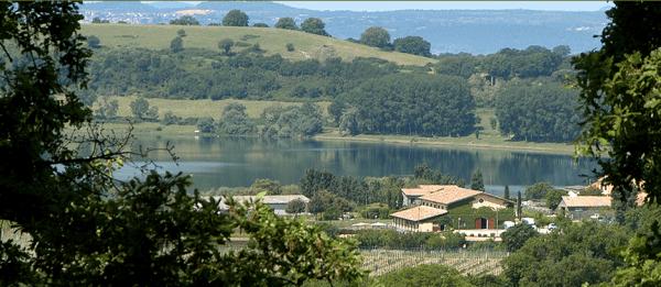 Lago di Martignano near Rome