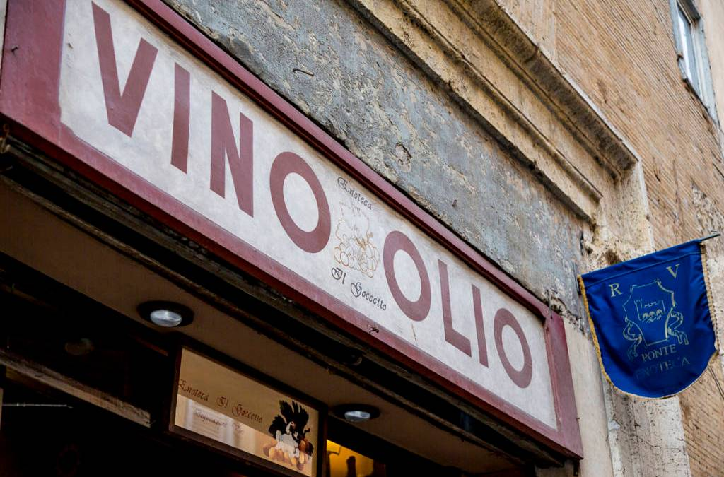 Italian Signs and Typography