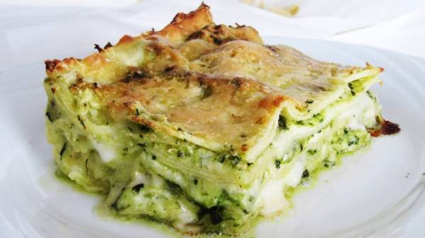 Pesto Lasagna · www.italyfoodandwinetours.com