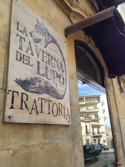Ragusa dining tip: Trattoria la Taverna del Lupo