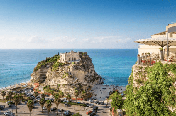 Tropea in Calabria, home to the Cipolla Rossa onion variety