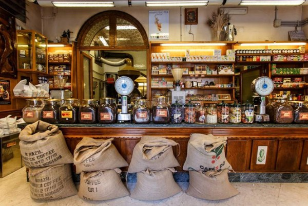 Ideal Caffè Stagnitta roaster in Palermo
