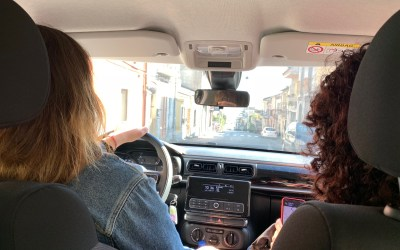 Sicily from the back seat